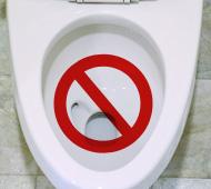 トイレが詰まってしまった