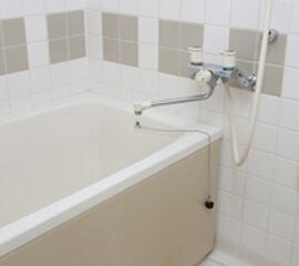 お風呂でのつまり・水漏れ修理もお任せ下さい