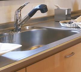 キッチンのつまり・水漏れ修理もお任せ下さい