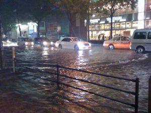 台風排水被害