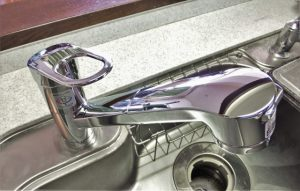 台所の水栓蛇口