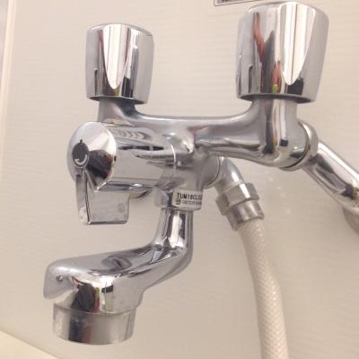 2バルブ混合シャワー水栓