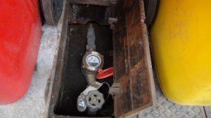 メーター止水栓