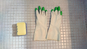 手袋・スッポンジ