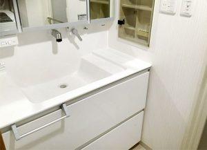 システム形式の洗面台
