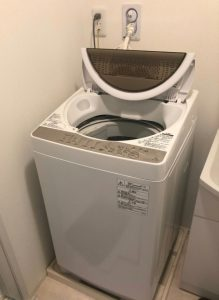 洗濯機の水漏れ